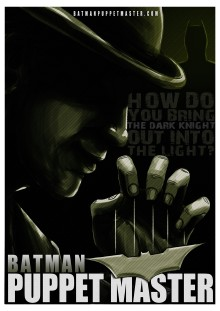 Batman Puppet Master poster